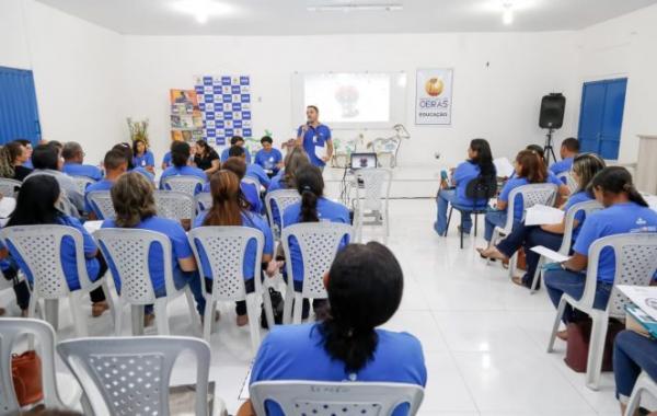 'SAAE nas Escolas' vai conscientizar estudantes sobre importância do consumo consciente da água em Oeiras