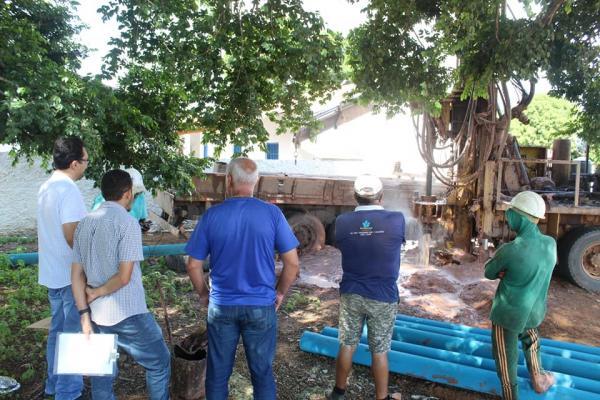 Projeto de equipagem de poços beneficiará 166 famílias da zona rural de Oeiras