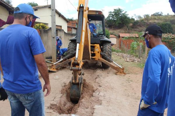 SAAE inicia 2ª etapa das obras de esgotamento na Vila São José em Oeiras